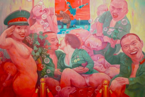 PHOTO 2 - That's how the West wants Chinese art to be