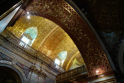 all that gold stolen by Christians to decorate their churches